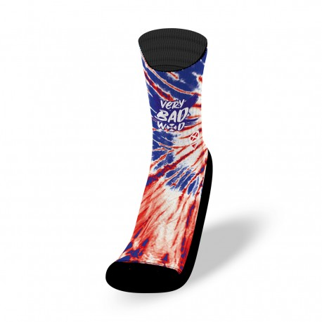 Multicolor workout socks TIE DIE FRENCH| VERY BAD WOD