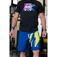 T-shirt caribbean blue BRUSH original for men | VERY BAD WOD
