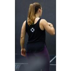 Training tank black BRUSH for women | VERY BAD WOD