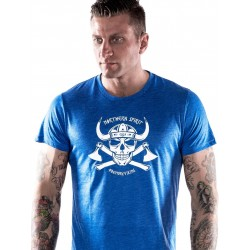 Grossiste T-Shirt Homme Crossfit - Blue Viking