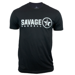 T-shirt black LOOK FEEL BE for men | SAVAGE BARBELL