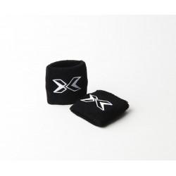 Unisex Elastic absorb Black wristbands | PICSIL
