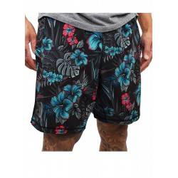 Training short HYBRID multicolor S-BISCUS for men   PROJECT X
