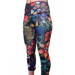 Training legging 3/4 mid waist multicolor ALL-OHA | PROJECT X