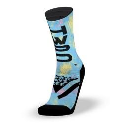 Multicoloured workout socks HWPO | LITHE APPAREL