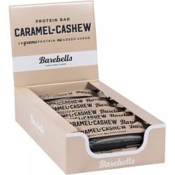 Pack of 12 Protein bars CARAMEL CASHEW  BAREBELLS