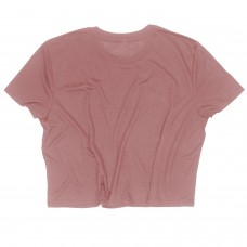 Training crop T-shirt THE CARVER pink for women |ROKFIT