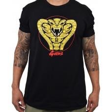 Training t-shirt black COBRA GAINS for men | PROJECT X