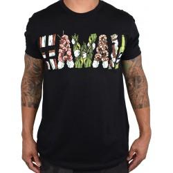 Training t-shirt black HAWAII GRINDZ for men | PROJECT X
