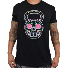 Training t-shirt black NEON DIA KB for men   PROJECT X