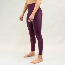 Training legging purple MULBERRY for women   WODABLE