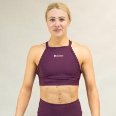 Training bra purple MULBERRY | WODABLE