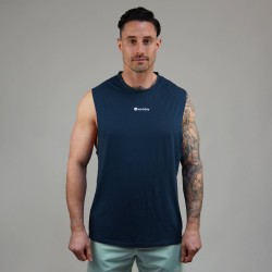 Muscle Tank homme bleu MIDNIGHT| WODABLE