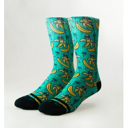 Chaussettes multicolores COOL BANANA| WODABLE