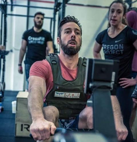 Vivien David athlete training distribution