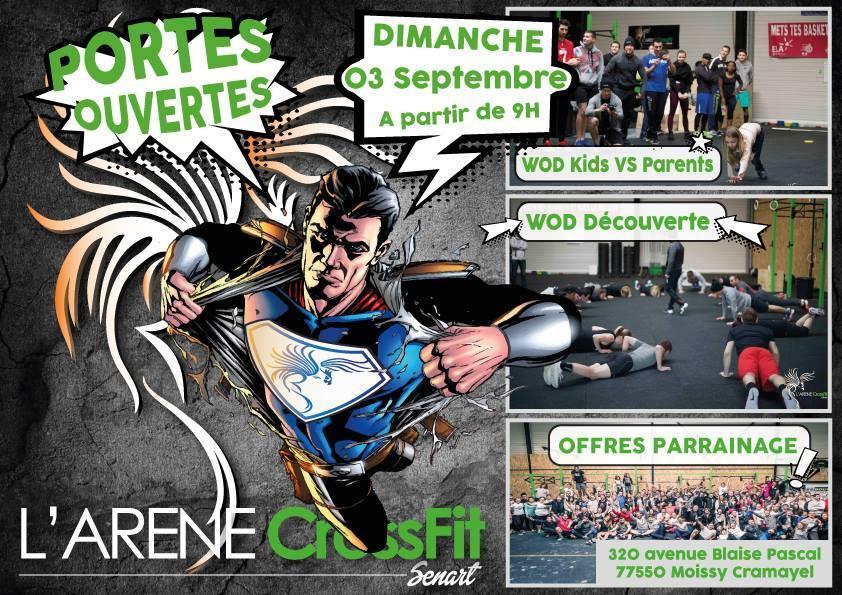 Portes ouvertes CrossFIt Sénart 3 septembre 2017
