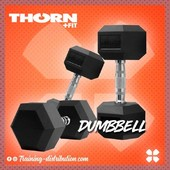 🚨Retour des dumbbells 5, 10 & 22,5kg 🚨Retrouvez notre sélection Thorn Fit sur Training-Distribution.com LIEN DANS LA BIO 💫#trainingdistribution #ThornFit #dumbbell #homegym #training