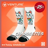 BACK IN STOCK - Venture 🧦Même les chats ne sont pas d'accord avec la fermeture des salles 😼⚡️Retrouvez toute notre selection Venture sur Training-distribution.com 📲#foreveryathletes #training #trainingdistribution #venturesocks #chaussettes #sport #venture #chat #cat