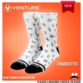 Chaussettes Venture 🧦On ne pouvait mieux representer la polyvalence 💫Retrouvez toute notre sélection Venture sur Training-Distribution.com 💫#trainingdistribution #Venture #training #chaussettes #socks