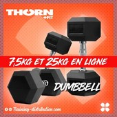 🚨 Dumbbells 7,5 & 25kg en stock 🚨10kg et 22,5kg toujours disponible 🔥Retrouvez notre sélection Thorn Fit sur Training-Distribution.com LIEN DANS LA BIO 💫#trainingdistribution #ThornFit #dumbbell #homegym #training