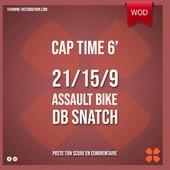 WOD Training Distribution ⚡️Cap Time 6'21/15/9Assault Bike Dumbbells SnatchDB 15/22,5kgTraining-distribution.com LIEN DANS LA BIO 💫#trainingdistribution #training #functionaltraining #sport #wod #workoutoftheday #dumbbell #db #dassaultbike #captime