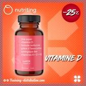 SOLDES - 25% Nutriting➡️Le nuADK est une SUPER VITAMINE D !➡️ Le NuADK combine 3 vitamines liposolubes (vitamine A + vitamine D + vitamine K2) qui agissent en synergie pour maintenir le bon fonctionnement du système immunitaire et la gestion des flux de calcium dans l'organisme.➡️ La vitamine A, pour réguler la vision et la fonction immunitaire➡️ La vitamine D, pour les os, le système musculaire et l'équilibre immunitaire➡️ La vitamine K2, pour la santé cardiovasculaire et le métabolisme des osDe l'huile d'olive BIO pour augmenter l'assimilationLe nuADK intéressera tous ceux qui souhaitent traverser la saison froide sans baisse de forme, améliorer leurs défenses immunitaires ou encore lutter contre la dépression saisonnière.Tout Nutriting est disponible chez Training-distribution.com 💻#trainingdistribution #nutriting #vitamineD #sante #training