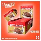 Protéines Battle Snacks 🍪➡️Goût Double chocolat➡️Sans OGM➡️Riches en fibres➡️Riches en protéine 10 gr par cookieRetrouvez toute notre sélection Battle Snacks sur Training-Distribution.com 💫#trainingdistribution #battlesnacks #training #cookies #proteines