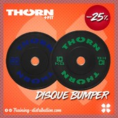 SOLDES - 25% Thorn Fit 🌪Disque Bumper 10 et 20kg 🏋️‍♂️Soyez prévisible et équipez vous avec Thorn FitRetrouvez notre sélection Thorn Fit sur Training-Distribution.com 💫#trainingdistribution #ThornFit #disque #bumper #weightlifting #training