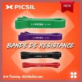 REASSORT - Picsil 💥Bandes de resistance pour vos entraînements ⚡️Retrouvez toute notre sélection Picsil sur Training-Distribution.com 💫#trainingdistribution #picsil #training #homegym #elastique #bandederesistance