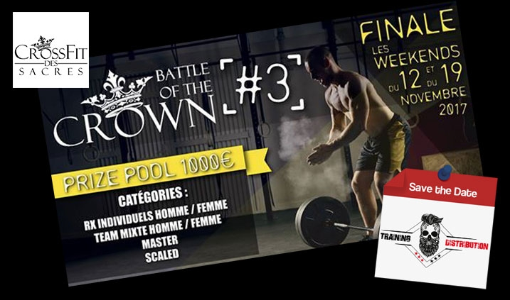 Battle of the Crown week end du 11/12 et 18/19 novembre 2017