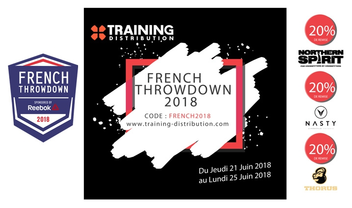 Promotions Spéciales FRENCH THROWDOWN 2018