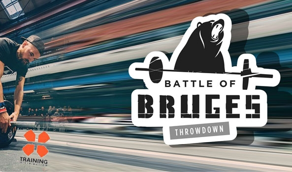 Let's go pour les Bruges Throwdown 2018 !