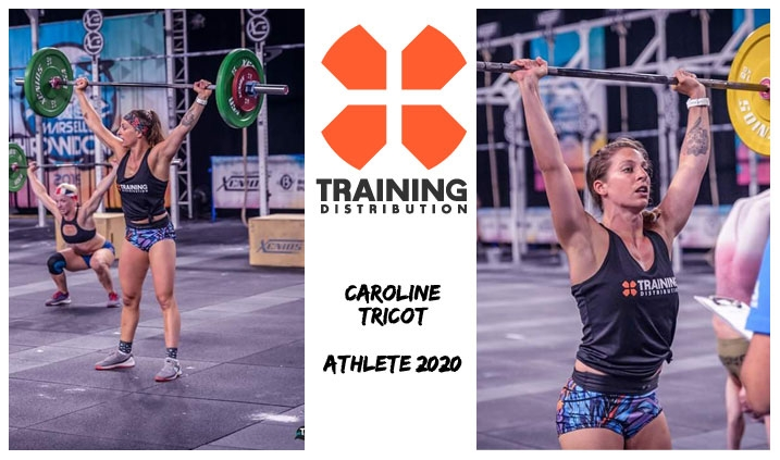 CAROLINE TRICOT - ATHLETE TRAINING DISTRIBUTION