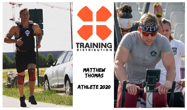 MATTHEW THOMAS - ATHLETE TRAINING DISTRIBUTION